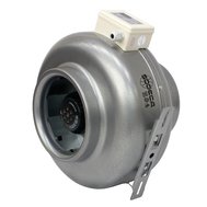 Ventilator centrifugal inline CA/LINE-12-3V pentru tubulatura circulara, Sodeca Spania, fig. 1