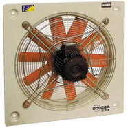 Ventilator axial de perete HC-50-4M/H, Sodeca Spania, fig. 1