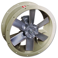Ventilatoare axiale de desfumare THT-40-4T-0.75-F-400, Sodeca Spania, fig. 1