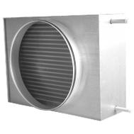 Baterie de incalzire cu apa calda, pentru racordare la tubulatura circulara, AVS 400, Salda Lituania, fig. 1