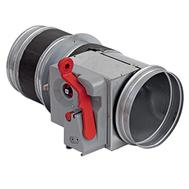 Clapeta antifoc circulara, rezistenta la foc 120 minute, BTT-30 EURO D 355 mm, Brofer Italia, fig. 1