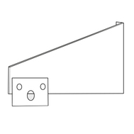 Consola de montaj in perete EZMVK, Frico Suedia, fig. 1