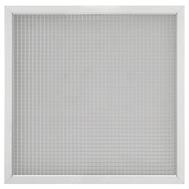 Grila de aspiratie din aluminiu, pentru plafon casetat, GMA 60 595*595, Brofer Italia, fig. 1