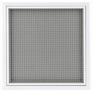 Grila de aspiratie din aluminiu, prevazuta cu filtru de aer, GMA 60-SMF 595*595, Brofer Italia, fig. 1