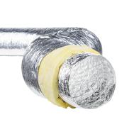 Tubulatura flexibila izolata aluminiu, diametru 203 mm, cutie de 10 m, ISOAFS 203, fig. 1