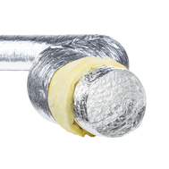 Tubulatura flexibila izolata aluminiu, diametru 254 mm, cutie de 10 m, ISOAFS 254, fig. 1