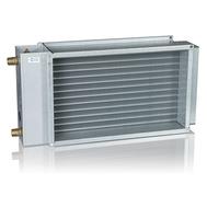 Baterie de incalzire cu apa calda, pentru racordare la tubulatura rectangulara, PGV 400*200-2-2.5, VEAB Suedia, fig. 1
