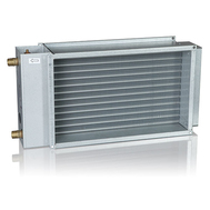 Baterie de incalzire cu apa calda, pentru racordare la tubulatura rectangulara, PGV 500*300-2-2.5, VEAB Suedia, fig. 1