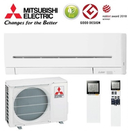 Aparat de aer conditionat Mitsubishi Electric Inverter MSZ-AP25VG + MUZ-AP25VG, 9000 BTU/h, cu unitate interioara de culoare alba, fig. 1