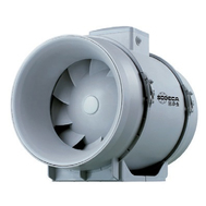 Ventilator centrifugal in linie, din material plastic ignifug, NEOLINEO 125/V, Sodeca Spania, fig. 1