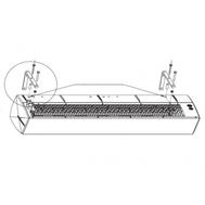 Set de suport pentru montaj orizontal GUARD C-0301_00, fig. 1