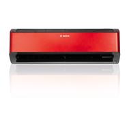 Aparat de aer conditionat Bosch Climate Class 8000i  CLC8001i-W 35 ER + CLC8001i 35 E, 12000 BTU/h, cu unitate interioară de culoare rosu, fig. 1