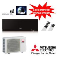Aparat de aer conditionat Mitsubishi Electric Inverter Kirigamine Zen MSZ-EF25VEB + MUZ-EF25VE 9000 BTU/h, fig. 1