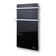 Panou radiant sticla de perete, touch control, display LED, 3 moduri, negru, Tesy, fig. 1
