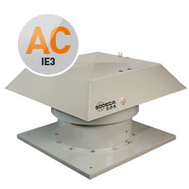 Ventilator axial de acoperis de inalta eficienta HT/EW-80-4T-3-IE3-VSD3-D, Sodeca Spania, fig. 1