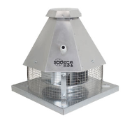 Ventilator de acoperis pentru seminee Tiracano, Sodeca Spania, fig. 1