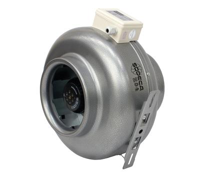 Ventilator centrifugal inline CA-LINE-10-3V pentru tubulatura circulara, Sodeca Spania, fig. 1