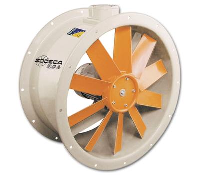 Ventilator axial de tubulatura HCT-56-4T-0.75/PL, Sodeca Spania, fig. 1