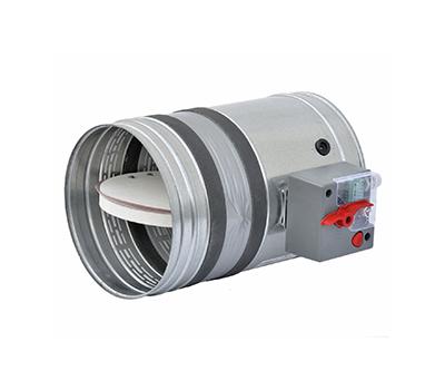 Clapeta antifoc circulara, rezistenta la foc 120 minute, BTT- 25 D 100 mm, Brofer Italia, fig. 1