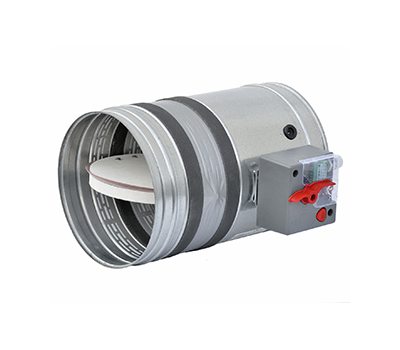 Clapeta antifoc circulara, rezistenta la foc 120 minute, BTT-25 D 250 mm, Brofer Italia, fig. 1