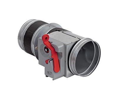 Clapeta antifoc circulara, rezistenta la foc 120 minute, BTT-30 EURO D 450 mm, Brofer Italia, fig. 1