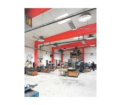 Panouri radiante industriale cu infrarosu IR3000, 3000W, Frico Suedia, fig. 3