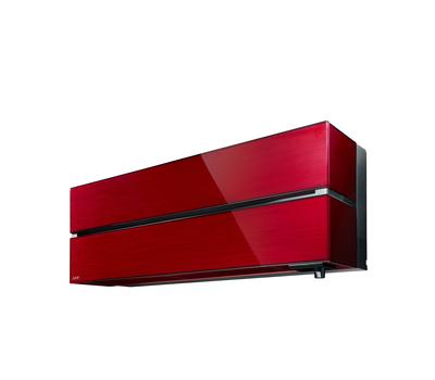 Aparat de aer condiţionat Mitsubishi Electric Inverter MSZ-LN25VGR + MUZ-LN25VG, 9000 BTU/h, cu unitate interioară de culoare rosie, fig. 1