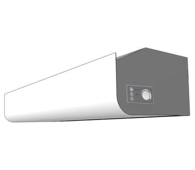 Perdea aer cu incalzire electrica, lungime 1 metru - telecomanda infrarosu inclusa, PA2210CE03, Frico Suedia, fig. 4