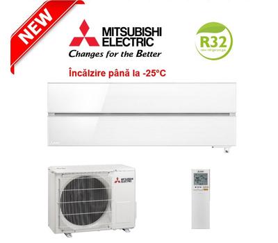 Aparat de aer conditionat Mitsubishi Electric Inverter MSZ-LN25VGW + MUZ-LN25VGHZ, 9000 BTU/h, cu functionare pana la temperaturi exterioare de -25°C, fig. 1