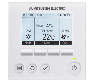 Aparat de aer conditionat Mitsubishi Electric Inverter MSY-TP35VF+MUY-TP35VF, 12000 BTU/h, numai racire, pentru camere de servere, fig. 3