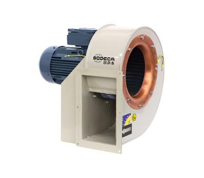 Ventilator centrifugal monoaspirant antiex  CMP-922-4T/ATEX/EXII2G EX E , Sodeca,  Spania, fig. 1
