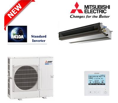 Aparat de aer conditionat Mitsubishi Electric Inverter PEAD-M125JA + PUHZ-P125YKA, 12,1 kW, cu unitate interioara necarcasata, fig. 1