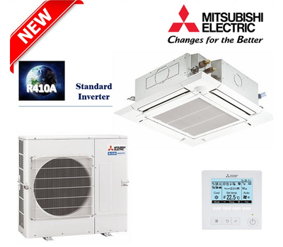 Aparat de aer conditionat Mitsubishi Electric Inverter PLA-M125EA + PUHZ-P125YKA, 12,2 kW, cu unitate interioara tip caseta, fig. 1